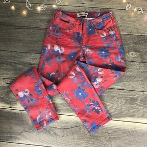 RARE Madison Scotch & soda floral denim